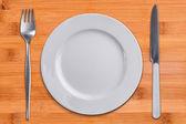 Empty plate — Stock Photo