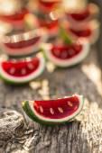 Strawberry jello — Stock Photo