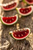 Watermelon jelly — Stock Photo