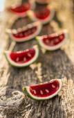 Red jello — Stock Photo