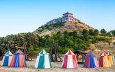 Medieval tent — Stock Photo