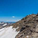 Mountains with snow — Stock Photo #79367134