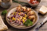 Chicken meatballs — Stock Photo