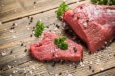 Crude beef — Stock Photo