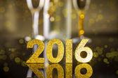 New Year background — Stock Photo