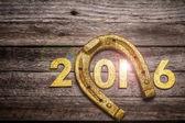 Locky New Year concept — Stock Photo