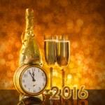New Year card design — Stock Photo #85065874