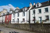 Typical houses in South Queensferry — Stock Photo
