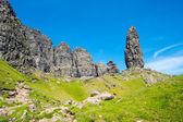 Spires of rock on the Isle of Skye — Stock Photo
