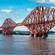 Forth railway bridge in Scotland — Stock Photo #54145001