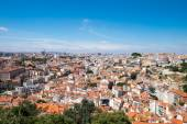 View over Lisbon on a sunny day — Stock Photo
