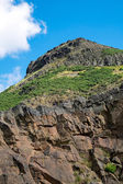 Arthurs seat near Edinburgh — Stock Photo
