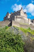 The impressing Edinburgh castle — Foto Stock