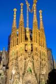 Facade of the Sagrada Familia — Stockfoto