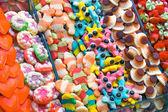 Fine candy at the Boqueria — Stock Photo
