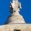 Detail of Casa Mila in Barcelona — Stock Photo #65979421