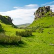 The green Fairy Glen, Scotland — Stock Photo #69399561