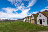 The old Laufas farm in Iceland — Stock Photo