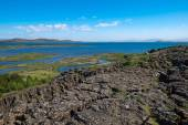 View over Thingvellir National park — Stock Photo