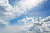 White cloud — Stock Photo