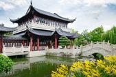 Pagoda on the lake — Stock Photo