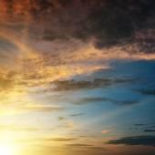 Beautiful sunset — Stockfoto