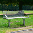 Garden bench in the park — Stock Photo #59433047