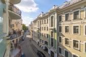 Moscow Street in the historic center of the city — Stock Photo
