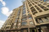 Modern prestigious high-rise apartment building — Stock Photo