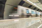 Metro Station in Istanbul — Stock Photo