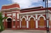 Railway station in Granada, Nicaragua — Zdjęcie stockowe