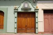 Door in Granada, Nicaragua — Stock Photo