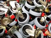 Rubber Wheels — Stock Photo