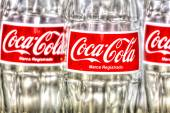 Coca Cola Bottles — Stock Photo