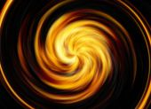 Twirl motion of bright explosion flash on black backgrounds — Foto Stock