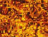 Hot relief transparent windows fire backgrounds — Stock Photo