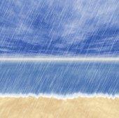 Rain storm backgrounds in cloudy weather — Zdjęcie stockowe
