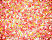 Many red small hearts backgrounds. love texture — Stock Photo