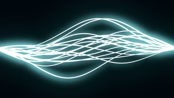 Many motion of electric charge — Vídeo de stock