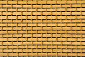 Closeup part of handicrafts bamboo rug — Stock Photo