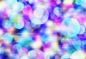 Bokeh backgrounds of Round Shapes in Chaotic Arrangement — Stock Photo