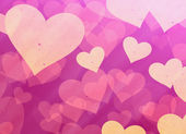 Red hearts backgrounds. Love symbol — Stock Photo