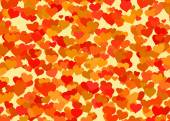 Red hearts backgrounds of Love symbol — Stock Photo