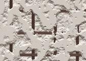 Bir kuru duvar kırık beton doku — Stok fotoğraf