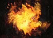 Molinete de destello brillante explosión sobre fondos negros — Foto de Stock