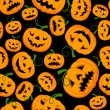 Halloween digitalem Papier — Stockvektor  #54970041