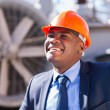 Technical manager in electricity power plant — Stock Photo #57221383
