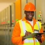 African american engineer — Stock Photo #57227717