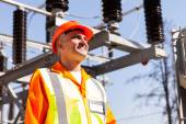 Substation technical engineer — Stock Photo