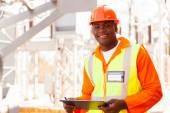 African electrical engineer — Stock fotografie